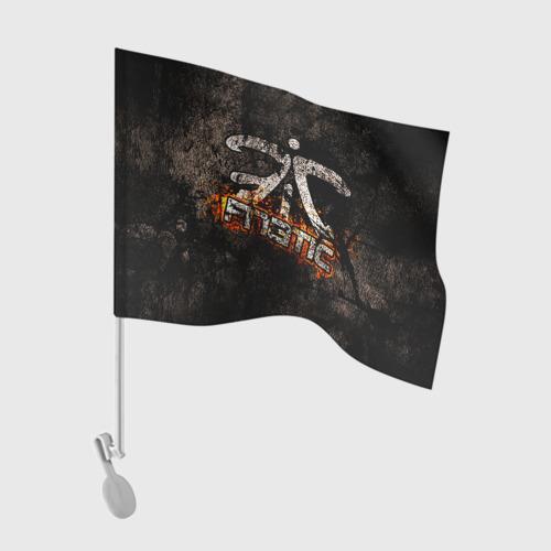 Флаг для автомобиля  Фото 01, Fnatic team