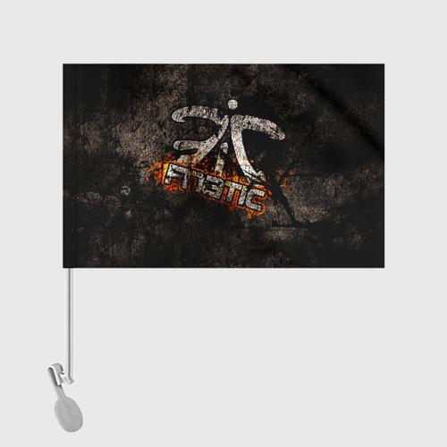 Флаг для автомобиля  Фото 02, Fnatic team
