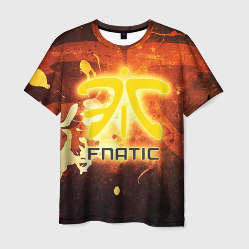Мужская футболка 3D Fnatic team от Всемайки