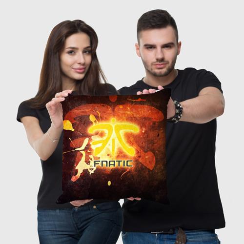 Подушка 3D Fnatic team Фото 01