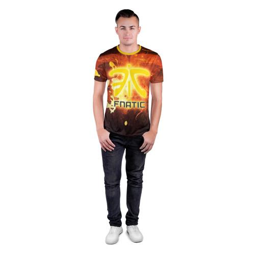 Мужская футболка 3D спортивная Fnatic team Фото 01