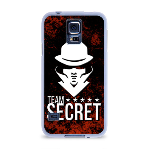 Чехол для Samsung Galaxy S5 силиконовый  Фото 01, Team Secret