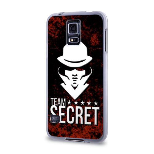Чехол для Samsung Galaxy S5 силиконовый  Фото 03, Team Secret