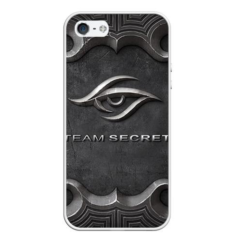 Чехол силиконовый для Телефон Apple iPhone 5/5S Team Secret от Всемайки