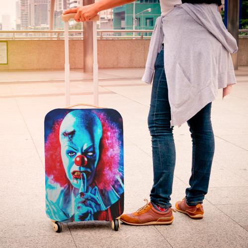 Чехол для чемодана 3D  Фото 04, Клоун