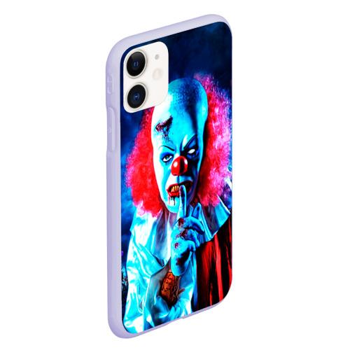 Чехол для iPhone 11 матовый Клоун Фото 01
