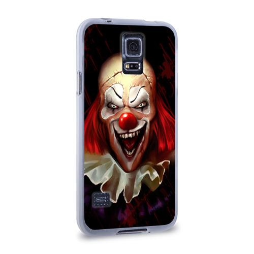 Чехол для Samsung Galaxy S5 силиконовый  Фото 02, Зомби клоун