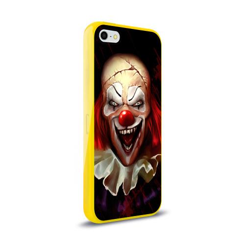 Чехол для Apple iPhone 5/5S силиконовый глянцевый Зомби клоун Фото 01