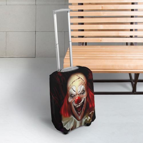 Чехол для чемодана 3D  Фото 03, Зомби клоун