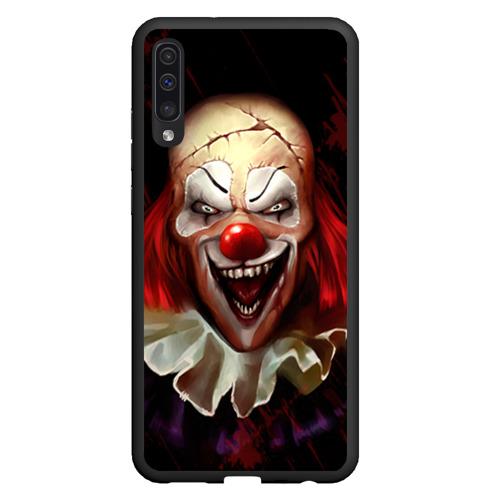 Чехол для Samsung A50 Зомби клоун Фото 01