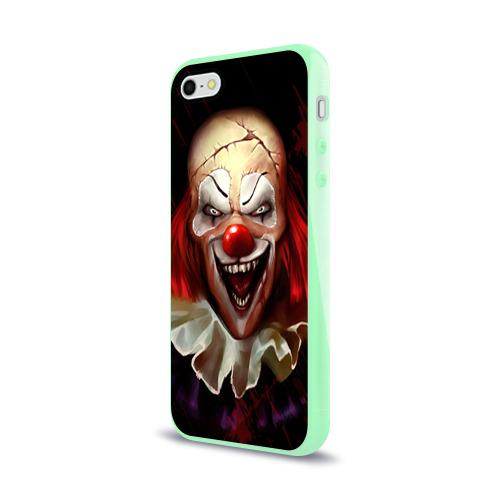 Чехол для iPhone 5/5S глянцевый Зомби клоун Фото 01