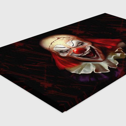 Холст прямоугольный Зомби клоун Фото 01