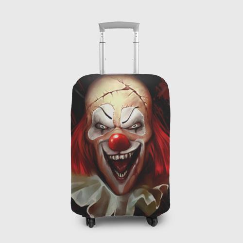 Чехол для чемодана 3D  Фото 01, Зомби клоун