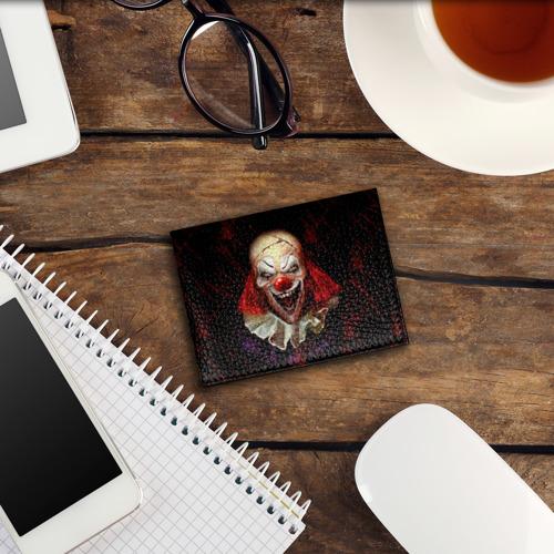 Обложка для студенческого билета Зомби клоун Фото 01