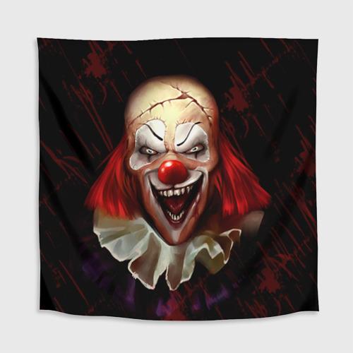 Скатерть 3D Зомби клоун Фото 01