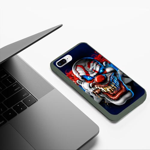 Чехол для iPhone 7Plus/8 Plus матовый Клоун Фото 01