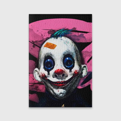 Обложка для паспорта матовая кожа  Фото 01, Клоун