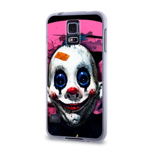 Чехол для Samsung Galaxy S5 силиконовый  Фото 03, Клоун