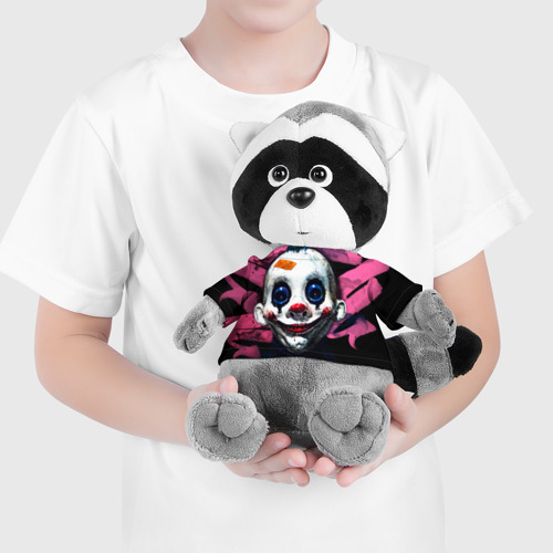 Енотик в футболке 3D  Фото 04, Клоун