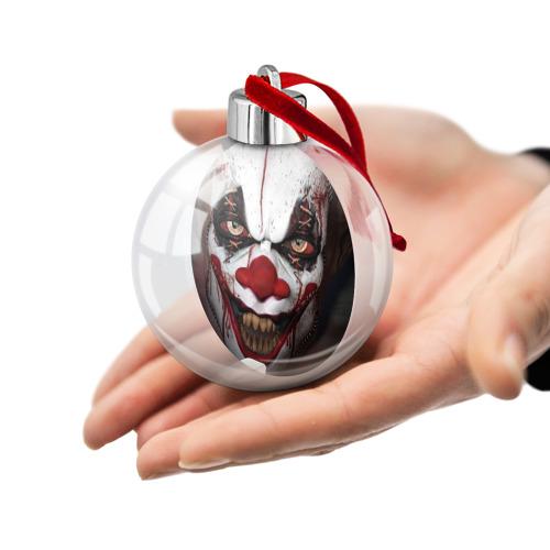 Ёлочный шар Зомби клоун Фото 01