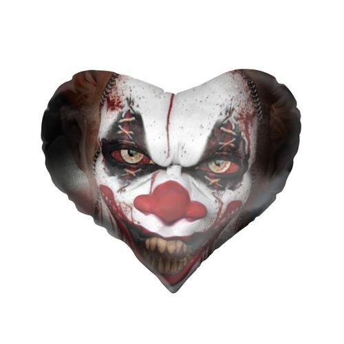 Подушка 3D сердце  Фото 01, Зомби клоун