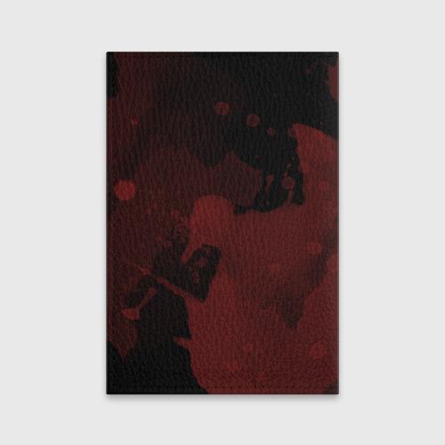 Обложка для паспорта матовая кожа Зомби клоун Фото 01