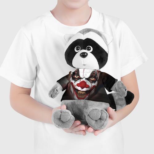 Енотик в футболке 3D  Фото 04, Зомби клоун