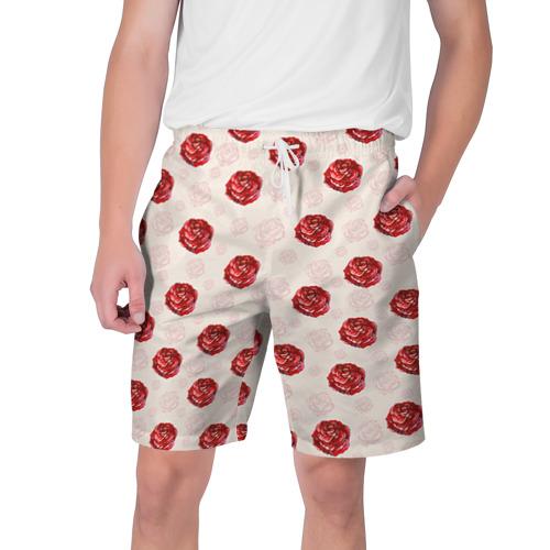 Мужские шорты 3D Розы