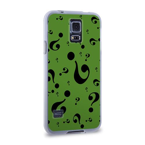Чехол для Samsung Galaxy S5 силиконовый  Фото 02, Загадочник