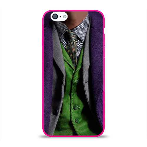 Чехол для Apple iPhone 6 силиконовый глянцевый  Фото 01, Джокер