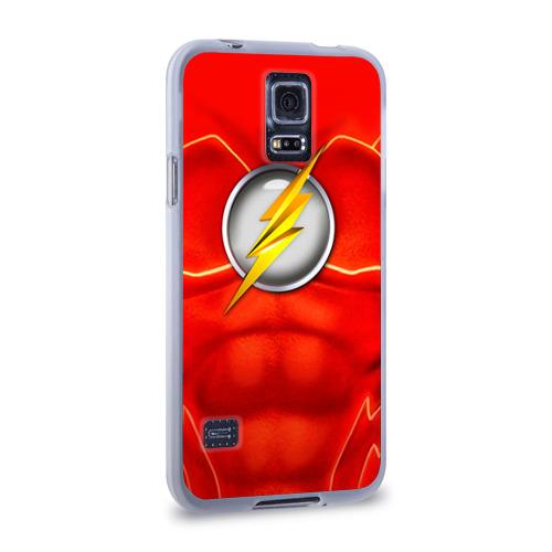 Чехол для Samsung Galaxy S5 силиконовый  Фото 02, Флэш