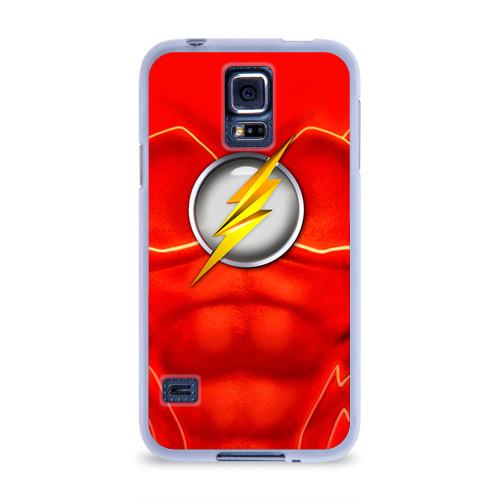 Чехол для Samsung Galaxy S5 силиконовый  Фото 01, Флэш