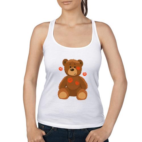 Женская майка борцовка  Фото 01, Медвежонок