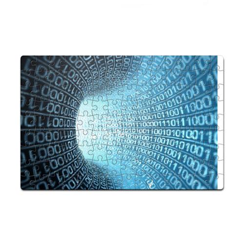 Пазл магнитный 126 элементов Двоичный код от Всемайки