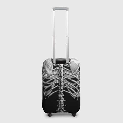 Чехол для чемодана 3D  Фото 02, Скелет с сердцем