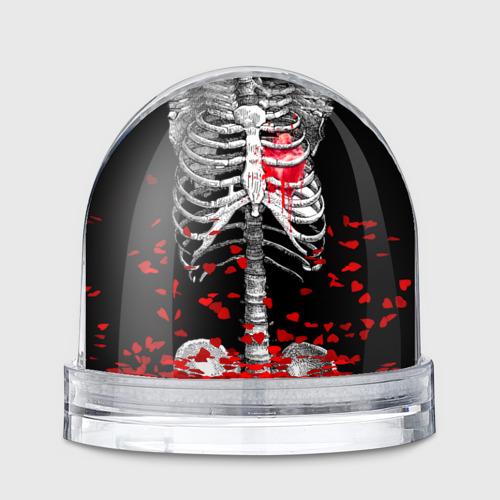 Водяной шар  Фото 01, Скелет с сердцем