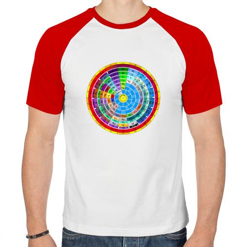 Мужская футболка реглан  Фото 01, Периодическая система