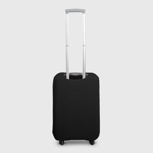 Чехол для чемодана 3D  Фото 02, Череп с оружием