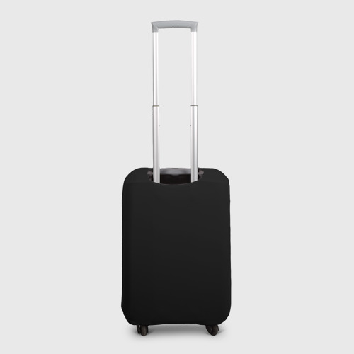 Чехол для чемодана 3D  Фото 02, Череп с рогами