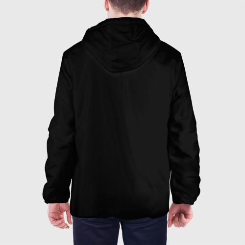 Мужская куртка 3D  Фото 05, Череп с рогами