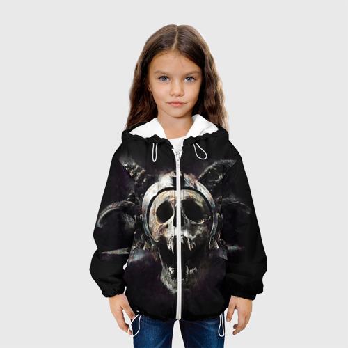 Детская куртка 3D  Фото 04, Череп с рогами
