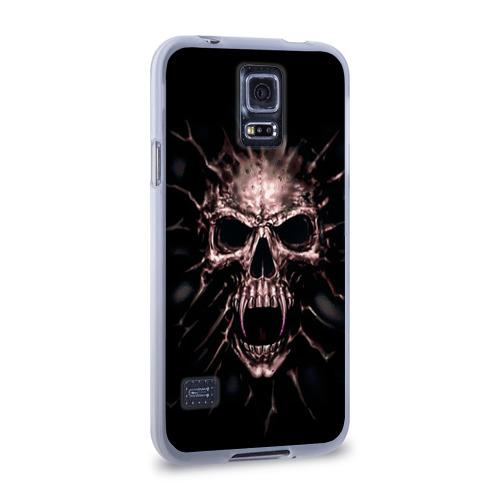 Чехол для Samsung Galaxy S5 силиконовый  Фото 02, Scary skull