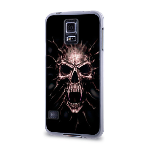 Чехол для Samsung Galaxy S5 силиконовый  Фото 03, Scary skull