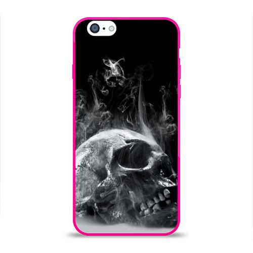 Чехол для Apple iPhone 6 силиконовый глянцевый  Фото 01, Skull