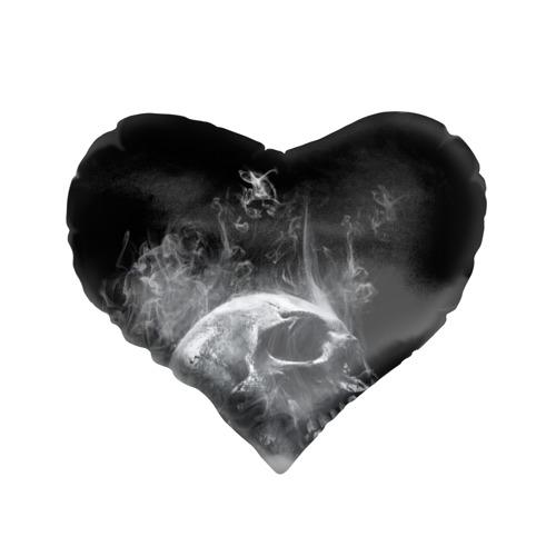 Подушка 3D сердце  Фото 01, Skull