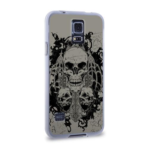 Чехол для Samsung Galaxy S5 силиконовый  Фото 02, Skulls