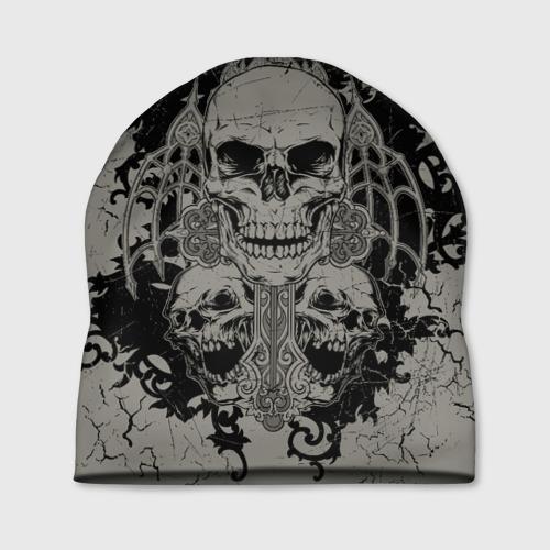Шапка 3D Skulls