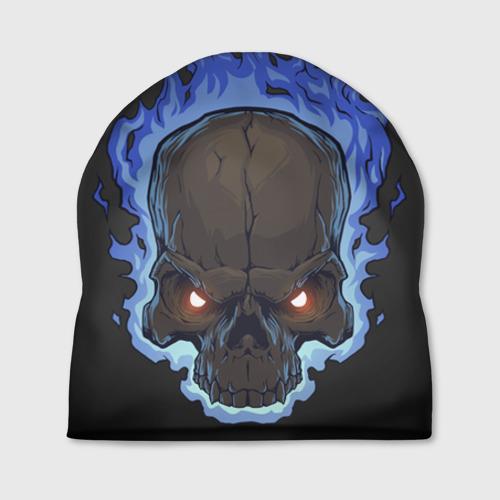 Шапка 3D Fire skull