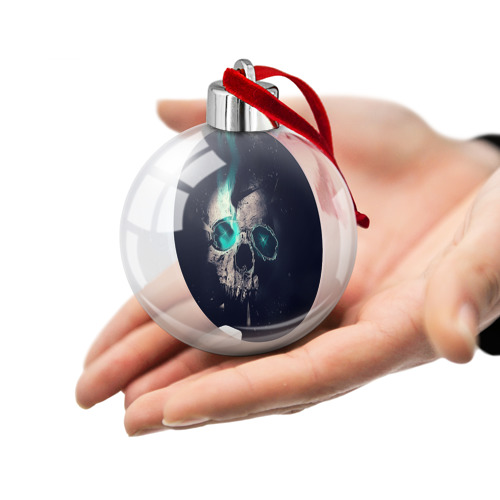 Ёлочный шар  Фото 02, Skull eyes