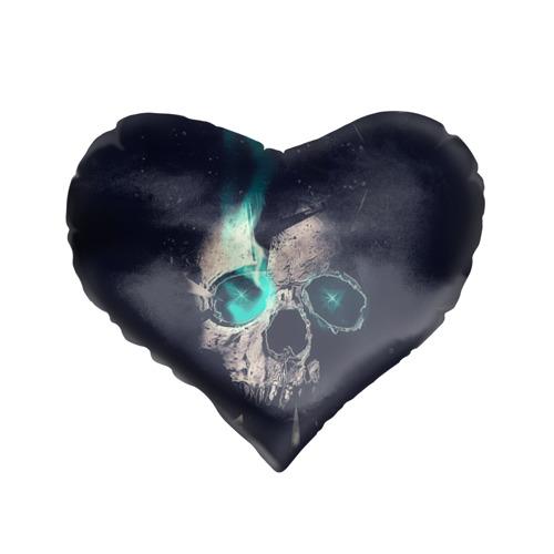 Подушка 3D сердце  Фото 01, Skull eyes